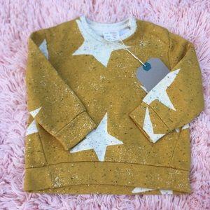 Zara baby star sweater